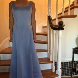 Stunning powder blue gown